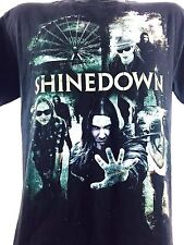 Vintage Shine Down Shirt Heavy Metal Metallica Concert Shirt Band Tee