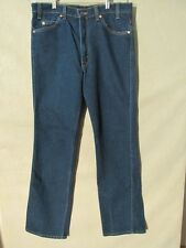 F1034 Levi's Vintage USA Made 517 Polyester Mex Jeans Men's 34x33