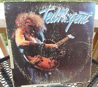 Ted Nugent Self Titled Original 1975 Epic Records Orange Label Vinyl LP PE 33692