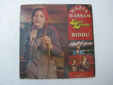 Disco Deewane Nazia Hassan Biddu Hindi LP Record Bollywood India-1398