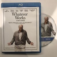 Whatever Works (Blu-ray Disc, 2009, Canadian)