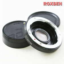 Contax Yashica mount C/Y lens to Nikon F Adapter DSLR Infinity D600 D800 D7100