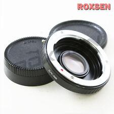 Contax Yashica Montura C/y Lente Nikon F Adaptador Dslr Infinity D600 D800 D7100