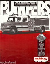 Fire Equipment Brochure - Saulsbury - Commercial Pumpers Customer Units (DB133)