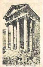 BF35345 tempio di augusto e di roma pola croatia  front/back scan