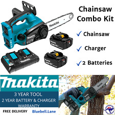 Makita 36V 5.0Ah Li-ion Cordless Chainsaw Combo Kit with battery and charger NEW