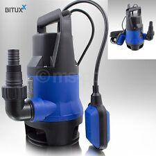 Bituxx Tauchpumpe 400 Watt Wasserpumpe Gartenpumpe Schmutzwasserpumpe Brunnen