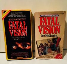 Fatal Vision Paperback by Joe McGinness / Fatal Vision 1984 TV Mini Series VHS