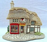 VINTAGE LILLIPUT LANE THE TOY SHOP WITH ORIGINAL BOX DEEDS & PACKAGING PERFECT