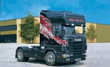 Italeri 3813 Scania 164 L Top Class 580 + calcomanías 1:24 Scale Kit Plástico Nuevo