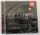BRAHMS J. - EIN DEUTSCHES REQUIEM - RATTLE - CD Sigillato