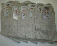 SOCKS 6 Pairs 100% LINEN Flax SIZE L / US 10 / EU 41-42 NWT Eco Friendly