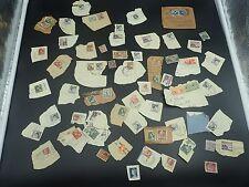 Australian Pre decimal Stamps Bulk Lot 70 Plus Stamps