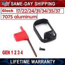 Black Aluminum Flared Magwell Glock 17/22/24/31/34/35/37 ( GEN1 2 3 4)