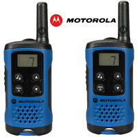 4Km Motorola TLKR T41 Walkie Talkie 2 Two Way PMR 446 Compact Radio Set Twin