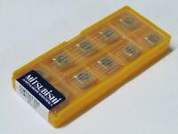 10 pcs MITSUBISHI Carbide inserts CCMT 32.52 / CCMT 09T308 Grade US735