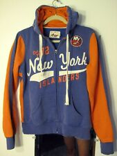 Women's 4Her Vintage New York Islanders Full Zip Hooded Sweatshirt - Medium