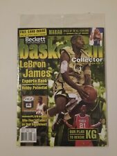 LeBron James April 2003 Beckett Collector Collectible Magazines Still Sealed