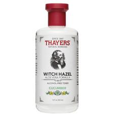 Thayers Alcohol Free Cucumber Witch Hazel Toner (12oz/355ml) NEW