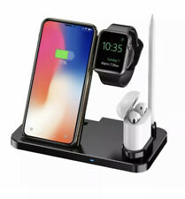 4 in 1 Fast Charger Model: W30 for Cell Phone, Ear Phones, Apple Pencil, Watch