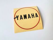 Yamaha DS7 R5 Generator Crankcase Oil Pump Cover High Quality Sticker for Emblem
