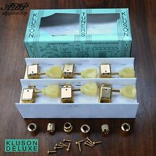 MECANIQUES VINTAGE KLUSON TULIPES GIBSON LP SG 3+3 GOLD Keystone Tuners  MC33G