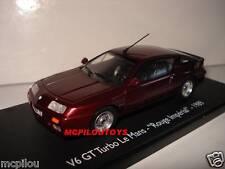 ELIGOR RENAULT ALPINE V6 GT TURBO LE MANS ROSSO Imperiale per la 1/43°