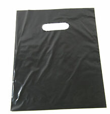 "50 20"" x 5"" x 20"" NEW BLACK GLOSSY Low-Density Premium Plastic Merchandise Bags"