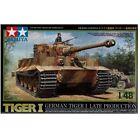 Tamiya 32575 Tiger I Tank Late 1 48 Military Model Kit