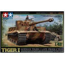 Tamiya] Modelo Kit 1/48 Alemán Tiger I Late Production 32575