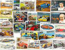 Racing Cars-50 all different-modern-older Drivers