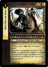 Lord of the Rings CCG Return of the King 7R129 Bold Men and Grim LOTR TCG