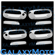 97-04 Dodge Dakota Triple Chrome Plated 4 Door Handle W/ Passenger Keyhole cover