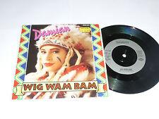 "Peluca Wam Bam Damián - - 1989 Reino Unido 2-track 7"" SINGLE VINILO"