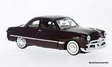 Ford Coupe 1949 dunkelrot  - 1:24 Motormax