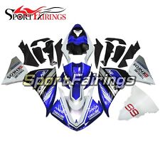 ABS Injection Placstics Blue Black Fairing Kit For Yamaha R1 2009-2011 09-11