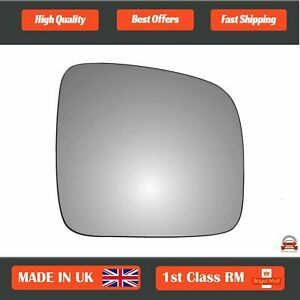 Right Side Stick On Convex Wing Mirror Glass for VW Transporter T5 03-2009 49RS
