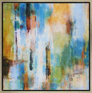 Painting Imagine 1 Framed Print Artwork Wall Decor Canvas Stretched Wood Frame