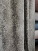 "fabric silver/charcoal 54"" wide, drapery"