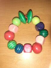Wooden Beaded Handmade Bracelet