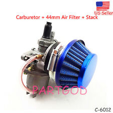 Carburetor Carb & Air Filter assy Stack 49cc 47cc Mini Moto ATV Dirt pocket bike