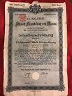 WW1 German War Bond (WW2)