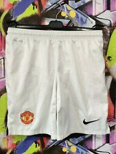 Manchester United Football Team Soccer Training Shorts Nike Mens Size M