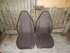 Jeep Wrangler TJ  97-02   Front Seat Grey Cloth / Vinyl  Pattern  OEM  FREE SHIP