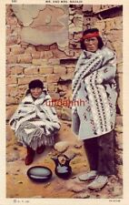 Mr. And Mrs. Navajo a Harry Herz post card