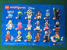 (Q29) LEGO MINIFIGURES DISNEY CATALOGO PAPERINO TOPOLINO Brochure KATALOG