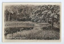 Postcard Burrelton The Pond Gray Park RP Blairgowrie Perth Dundee