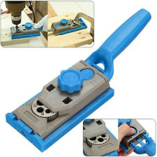 Pocket Hole Jig System Wood Doweling Joinery Drill Guide for Woodworking