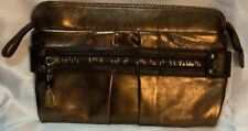 A Very Beautiful Copper Leather See By Chloe Clutch Style Handbag