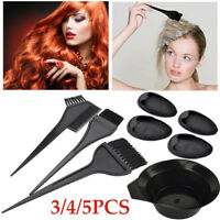 Coloring Mixing Bowls Ear Cover Hair Brush Comb Hairdressing Hair Styling Tool